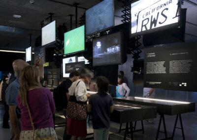 Visita a la exposición de Alfred Hitchcock