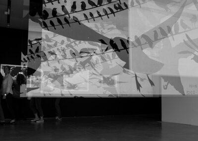 Exposición Alfred Hitchcock - Los pajaros