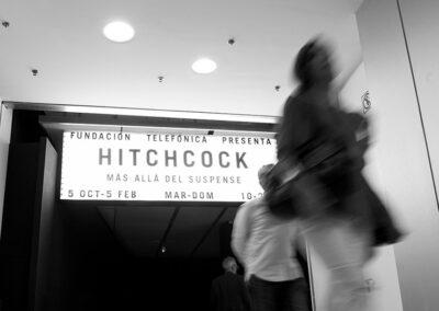 Exposición Alfred Hitchcock- más alla del suspense