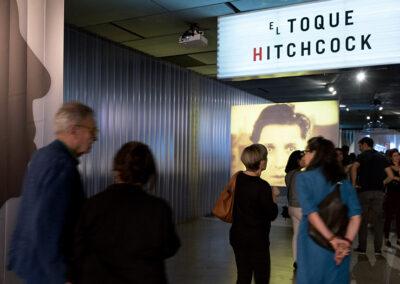 """Exposición Alfred Hitchcock """"El Toque"""""""