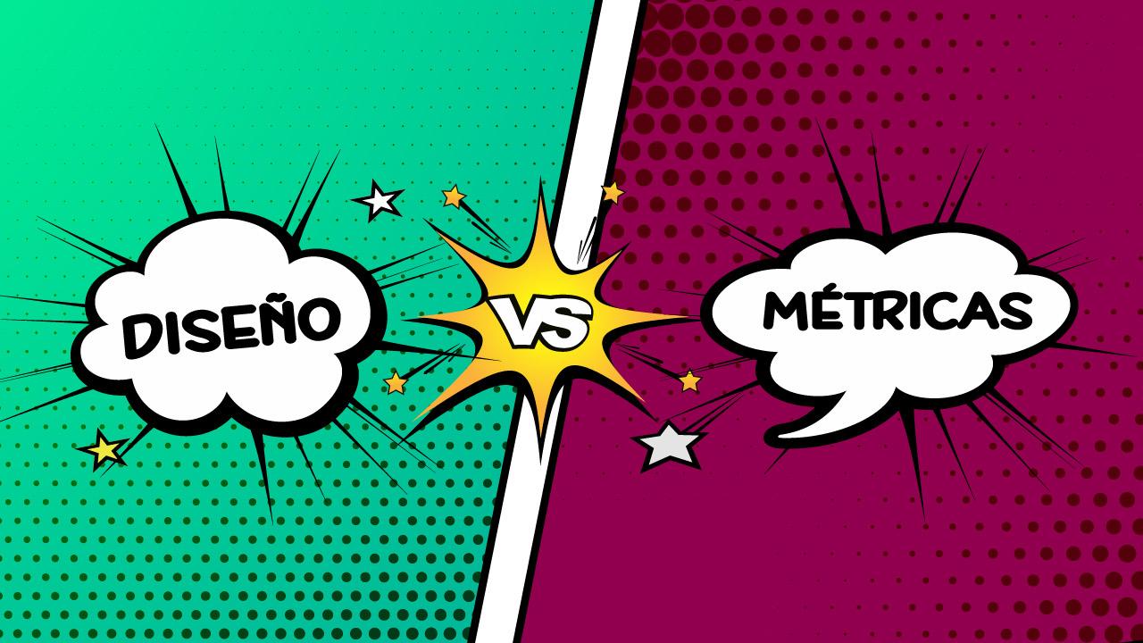 Diseño versus métricas en paginas web