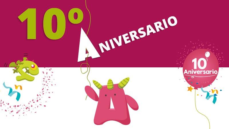 Gracias por estos 10 años diseñando para vosotros ¡Vamos a por otros 10!