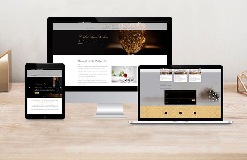 Páginas web corporativas