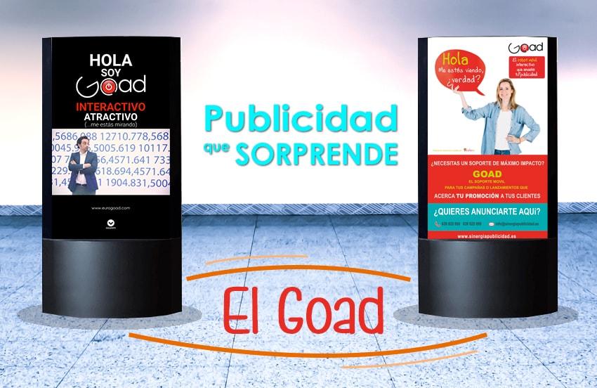 Cómo sorprender a tu audiencia, soportes publicitarios originales: el Goad y las publicaciones digitales interactivas.