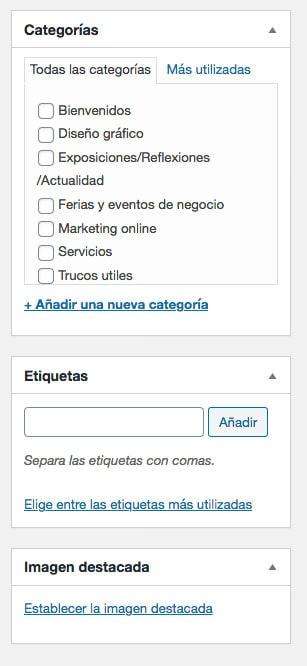 wordpress web pantalla