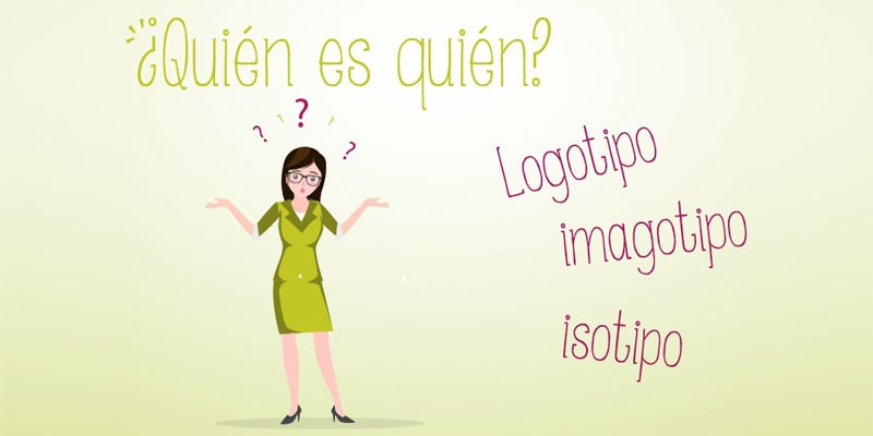 ¿Qué diferencia hay entre logotipo, isotipo e imagotipo?