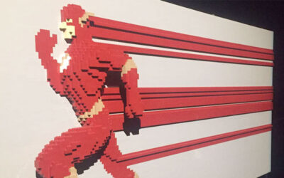 "Exposición ""The Art of the Brick"": DC Super Heroes"
