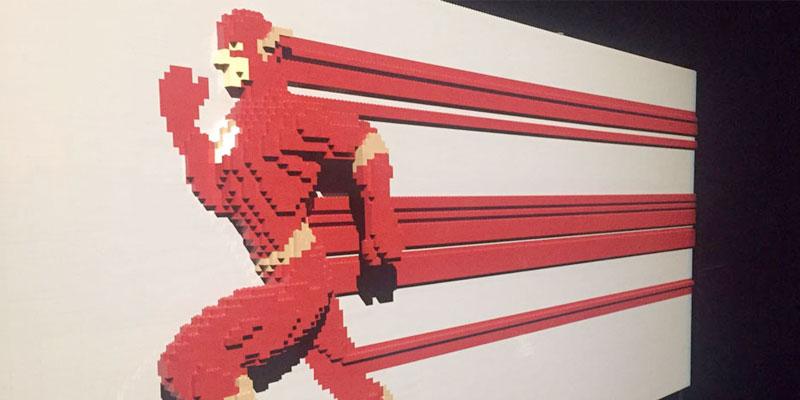"Exposición ""The Art of the Brick"": DC Super Heroes"