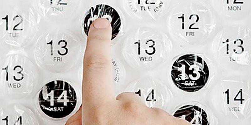 Calendarios personalizados: 5 ideas originales para sorprender