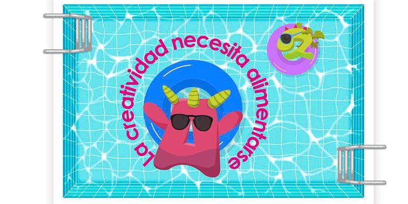La creatividad necesita alimentarse… y lo hace de ¡Vacaciones!