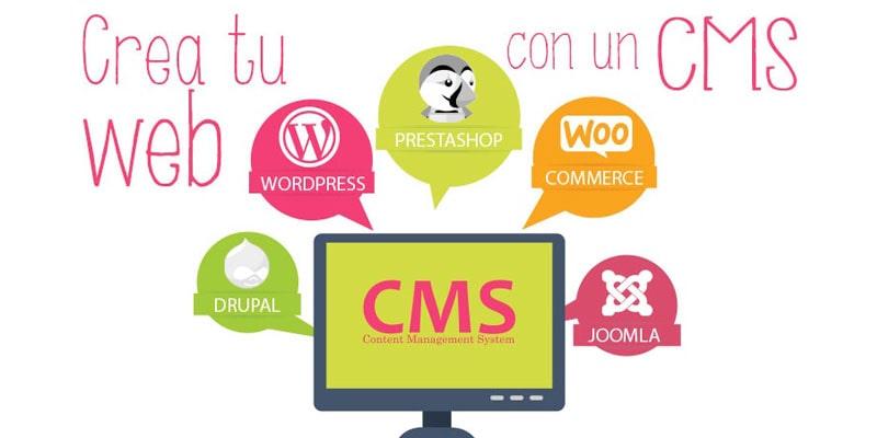 Cómo crear una página web con un CMS