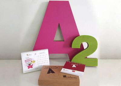 Elementos A2 Colores sorteo Navidad - Ideas y producción merchandising y packaging