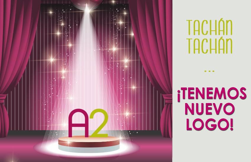Rediseño logotipo A2 colores