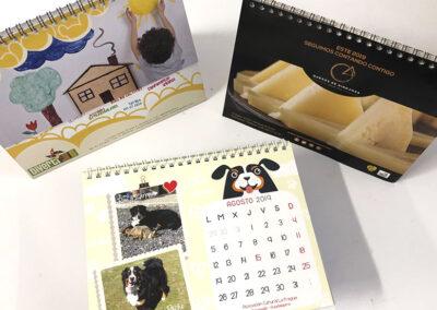 Diseño de calendarios personalizados - Diseños para Navidad