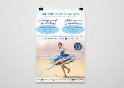 Diseño cartel Destino Alma - Diseño editorial cartelería