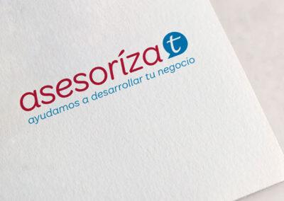 logotipo Asesorizat - Imagen corporativa y logotipos
