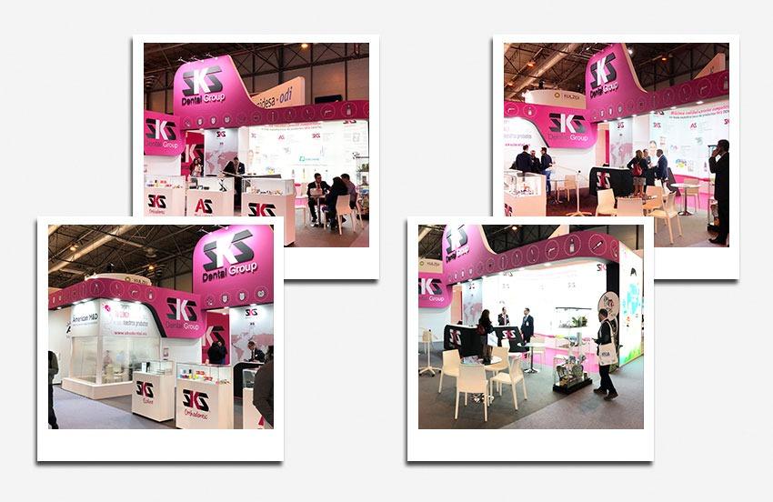 Diseño decoración stand Via Celere - Diseño gran formato