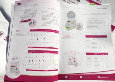 Diseño catalogo SKS Dental interiores - Diseño editorial