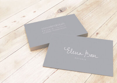 Produccion tarjetas de visita