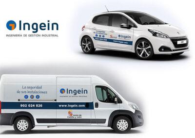 Rotulación vehículos Ingein Itevelesa - Rotulación y vinilado