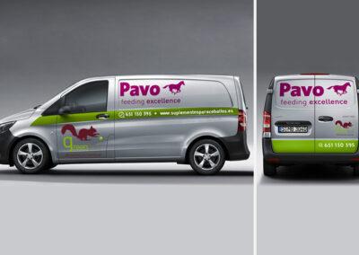 Rotulación vehículos Greenfeed Pavo - Rotulación y vinilado