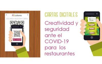 Cartas digitales: Creatividad y seguridad ante el COVID-19 para los restaurantes