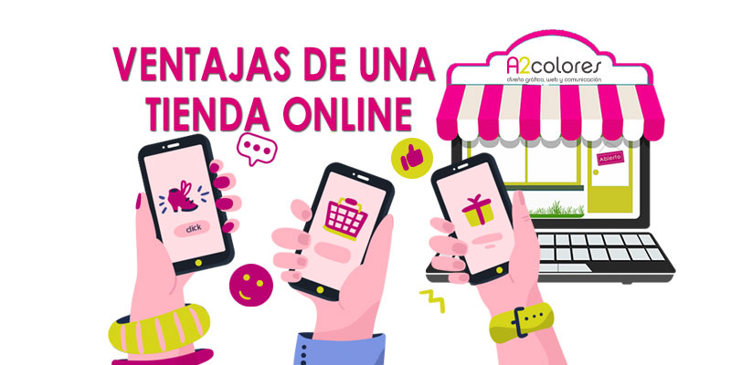 6 Ventajas de tener una tienda online