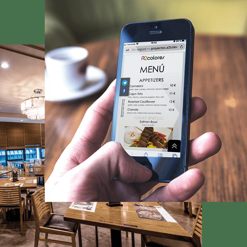 meús digitales para restaurantes