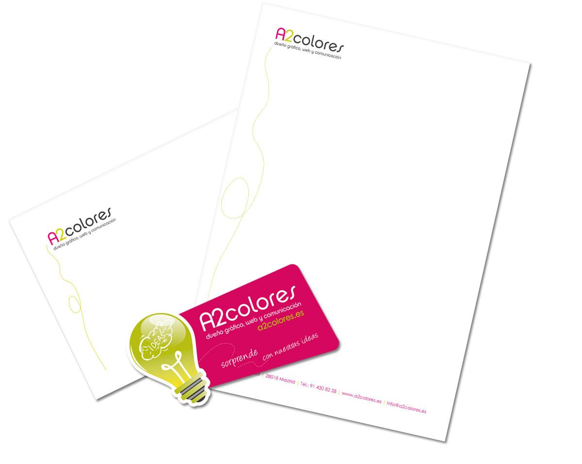 Papeleria y tarjetas de visita originales restylling logo