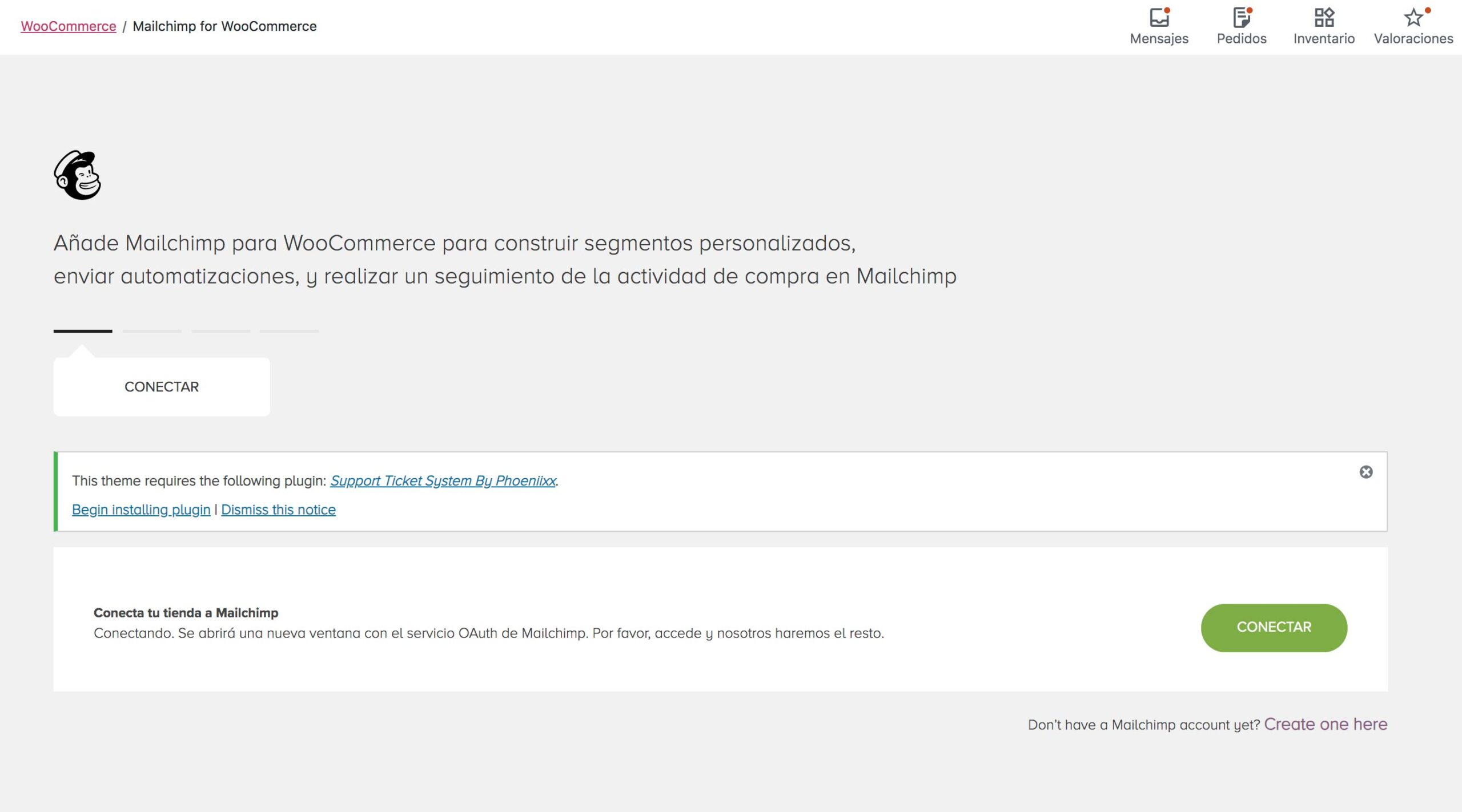 Mailchimp para woocomerce tiendas online sincronizacion