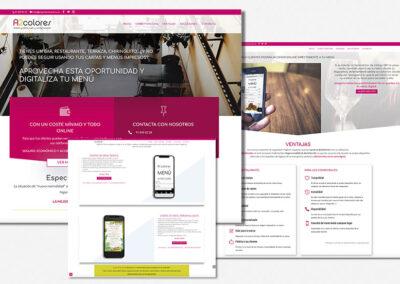 diseno-web-a2colores-landing-menu-digital