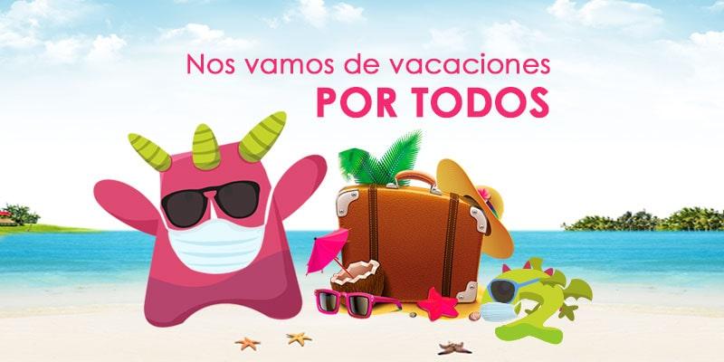 Disfrutemos las vacaciones. Por todos nosotros