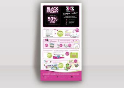 Diseño flyers publicitarios SKSDental - Diseño editorial