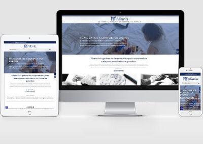 Páginas web con área privada