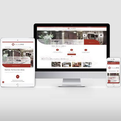 Páginas web de servicios