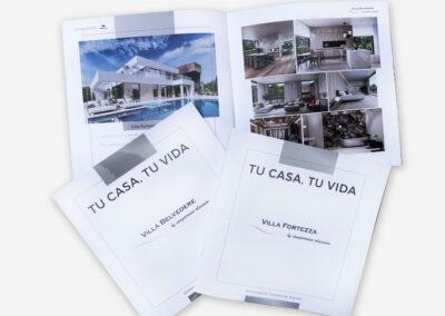 Diseño y Producción catálogos Residencial Camporrosso. - A2 Colores