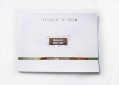 Diseño y Producción catálogos Residencial Camporrosso Stone Valley. - A2 Colores